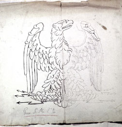 Preparatory study for the Imperial eagle