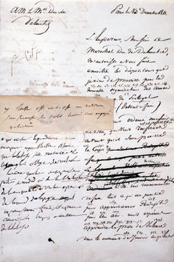 Order to defend Madrid sent from Napoléon