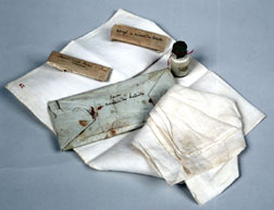Napoléon's toiletry items from St. Helena