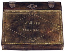 Portfolio and writing case of General Jean Rapp