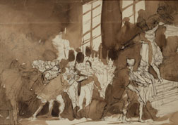 "Study for ""18th Brumaire"""