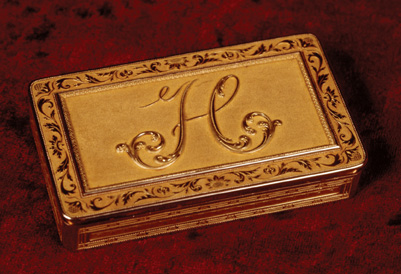 Snuffbox belonging to Queen Hortense