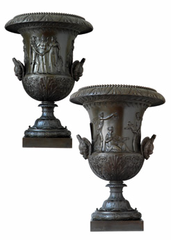 Medici-style vases