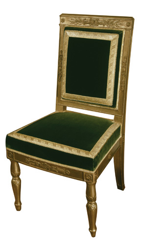 Chair from Napoléon's personal Tuileries office