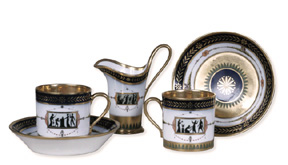 Items from Napol�on and Jos�phine�s S�vres porcelain service